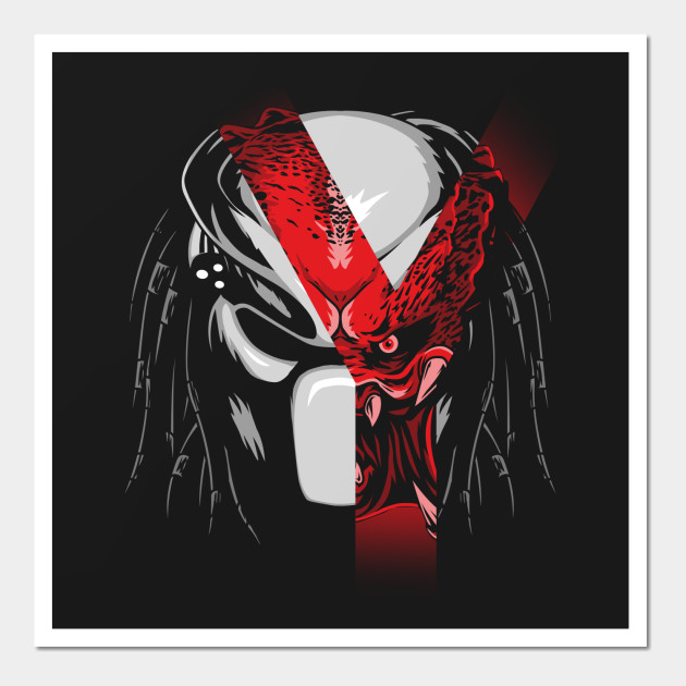 Predator wall art
