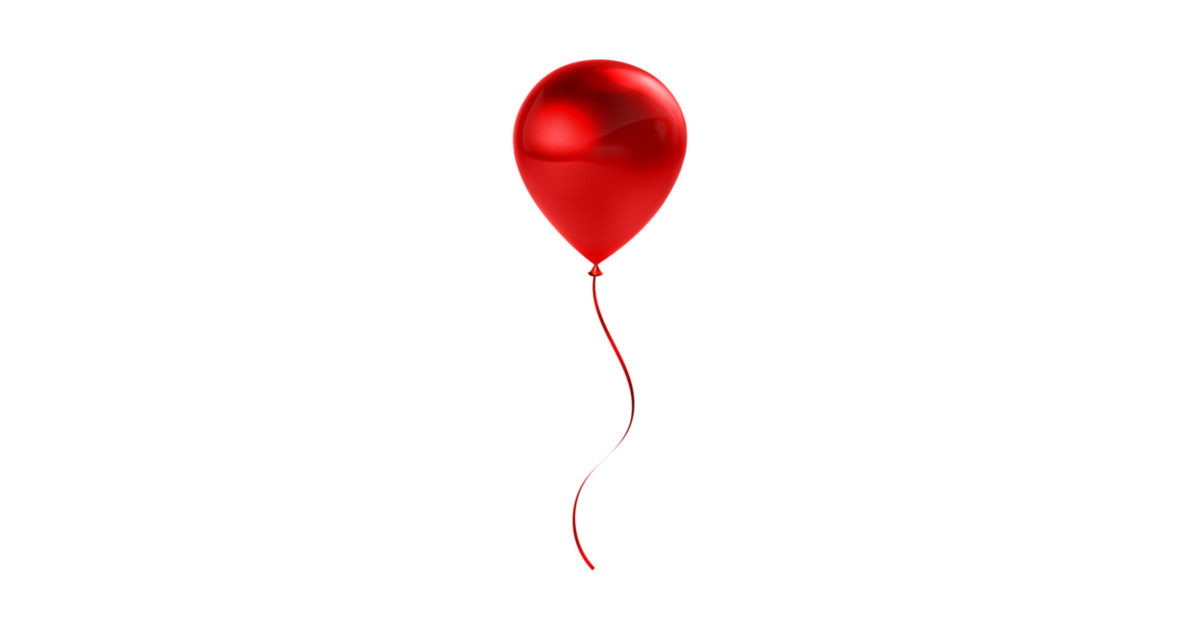 Pennywise Hintergrund: Red Balloon - Balloon - T-Shirt