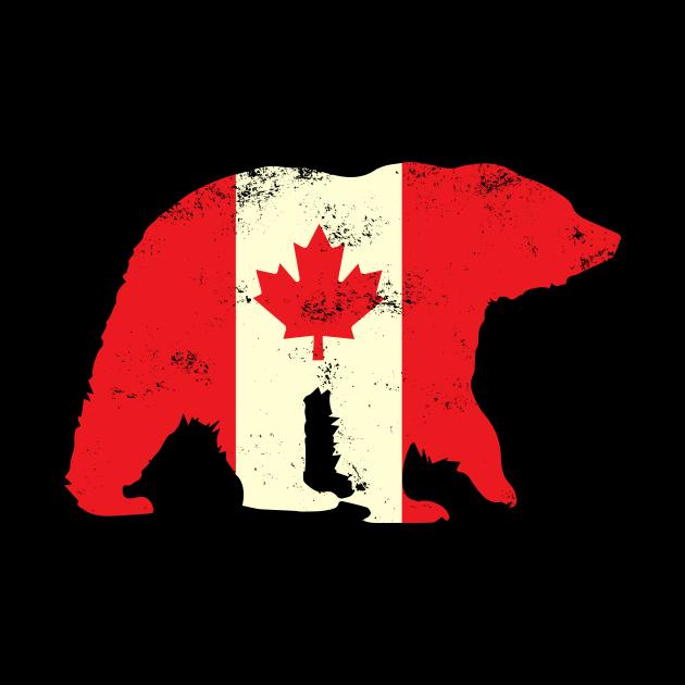 Canadian Maple Leaf Bear