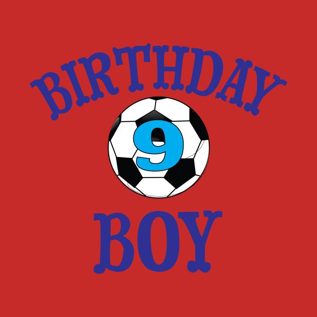 Birthday Boy 9 Soccer