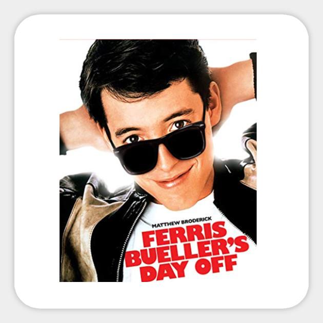 Ferris Buellers Day Off My Hero Adult Tank Top