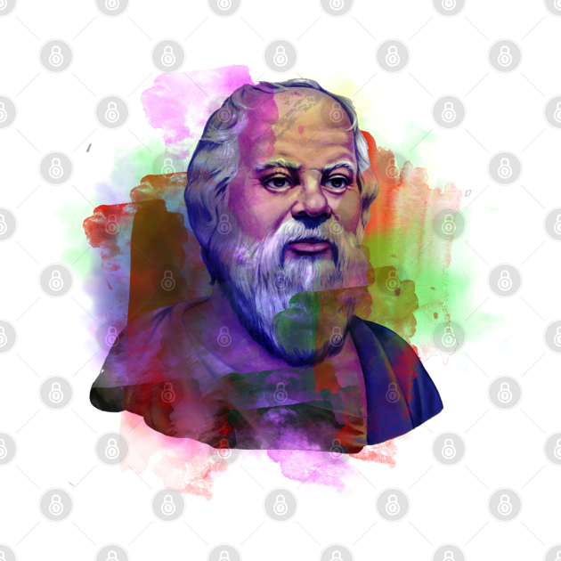Painting Art of Socrates