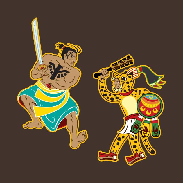 Aztec Samurai vs Jaguar Warrior