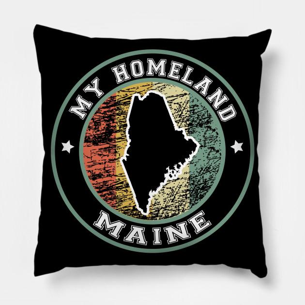 Homeland Maine state USA vintage