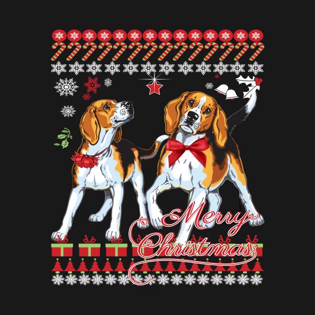 brand new 5ea2f d361a Beagle Ugly Christmas Sweater