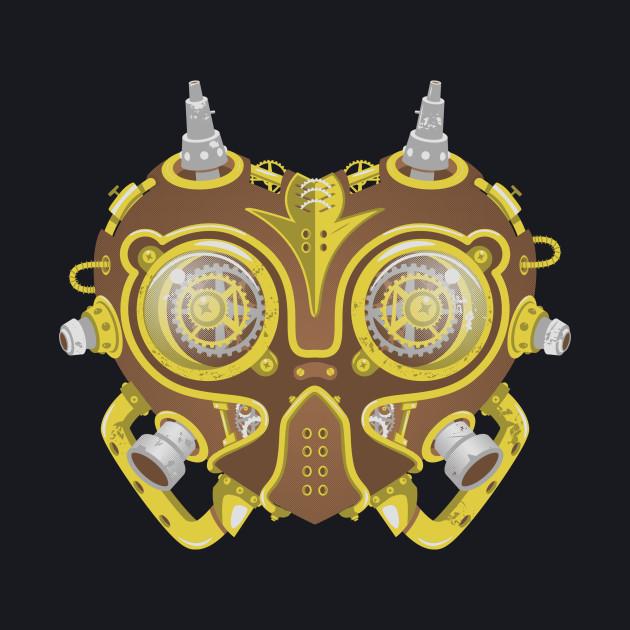 Majoras Mask Steampunk