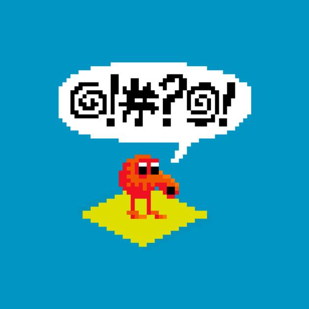 pixel qbert