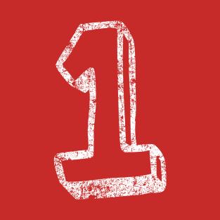 1 Fun Font - Distressed t-shirts