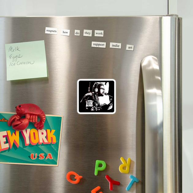 Instant Karma Lennon Magnet Teepublic