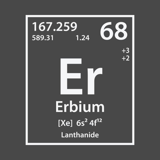 Erbium Element Erbium T Shirt Teepublic