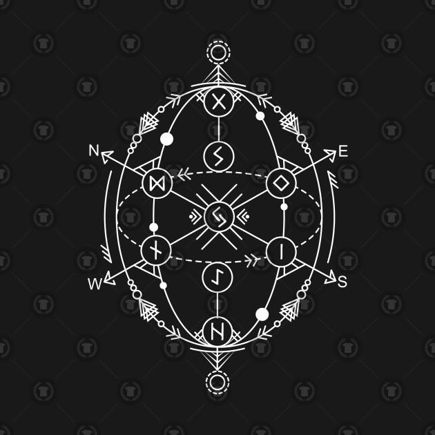 acheter en ligne 0f86b 28b5a Yggdrasil - The Nine Worlds | Norse Pagan Symbol