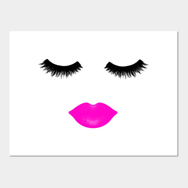 29cc800f7589 Lips and Lashes Pink