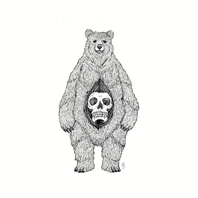 Bear Skull Belly