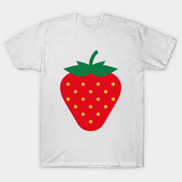 7559ec885 Strawberry / Fraise / Fresa / Erdbeere - Strawberry - T-Shirt ...