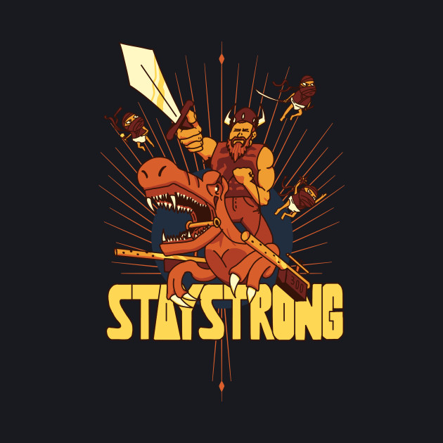 Ellohime's Exclusive Stay Strong Design