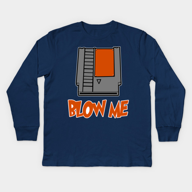 Blow Me Tee Shirt Nintendo Game Funny Design Art Gift for Gamer