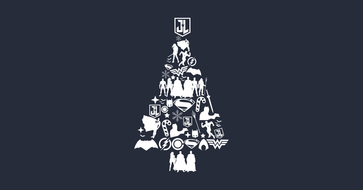 Justice League Christmas Jumper T-Shirts | TeePublic