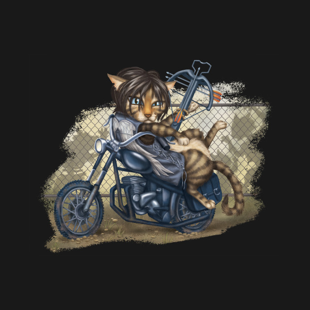 Walking Dead Daryl Dixon Cat