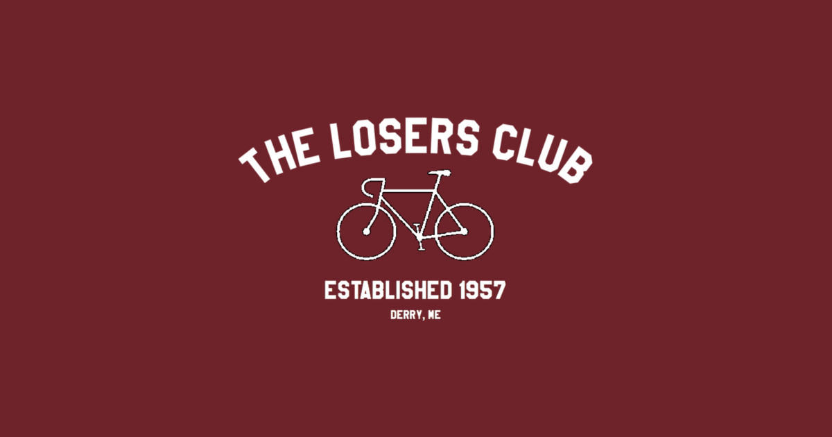 The Losers Club White Logo The Losers Club T Shirt