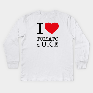 I Love Heart Tomato Sauce Kids T-Shirt