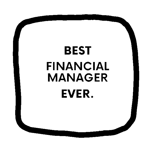 Best Financial Manager Ever Financial Manager Sticker Teepublic