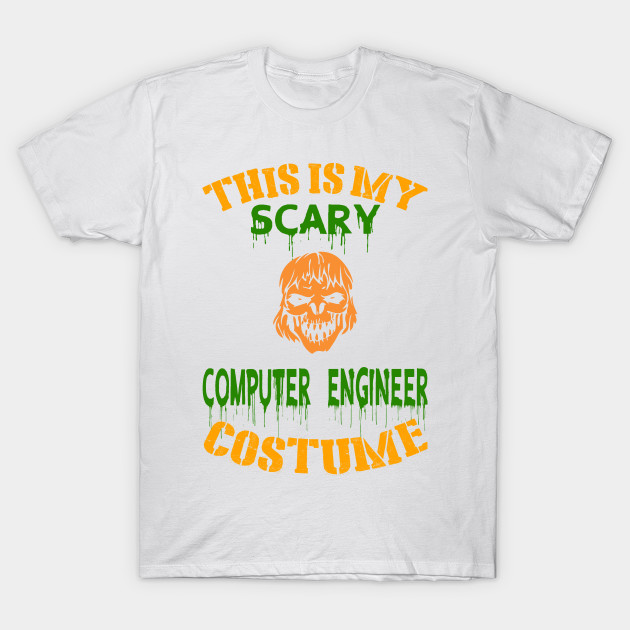 This Is My Scary Computer Engineer Costume T-Shirt-TOZ