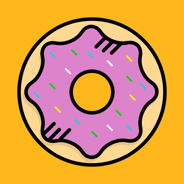 Cute Donut Pink - Icon