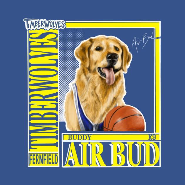 Vintage Air Bud 90s Timberwolves Tee