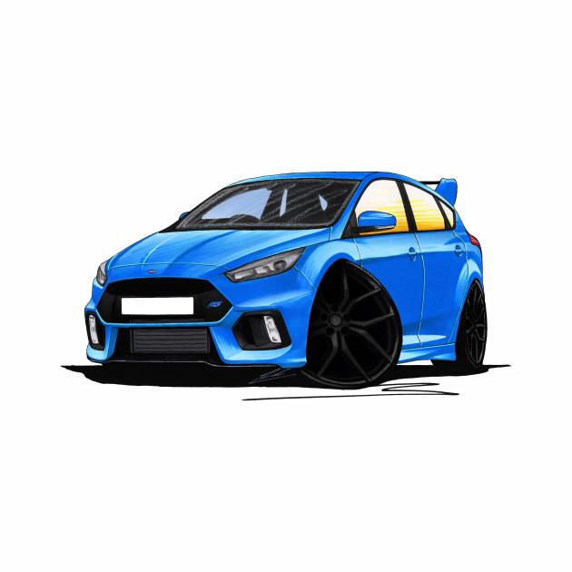 Ford Focus (Mk3) RS Blue
