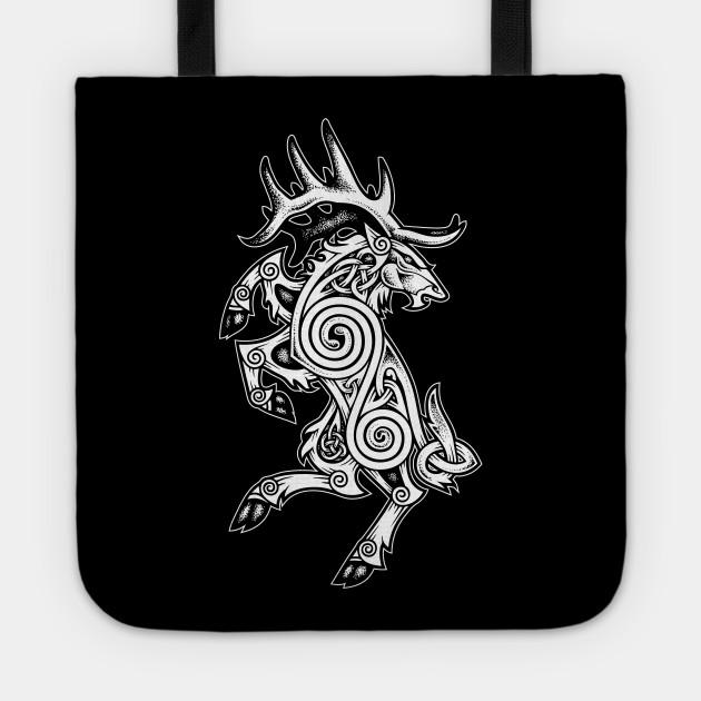 Celtic Elk Rampant