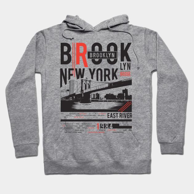7d778fb08 Brooklyn New York - New York - Hoodie   TeePublic