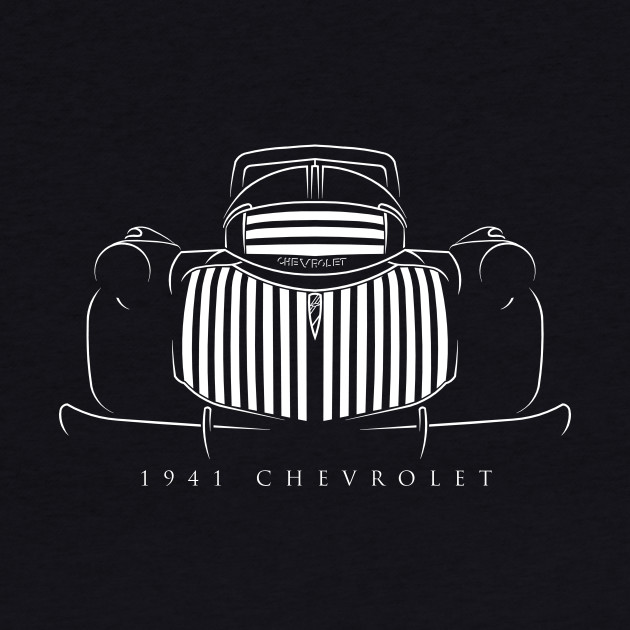 1941 Chevy Pickup - Stencil