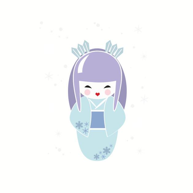 Winter Queen Kokeshi