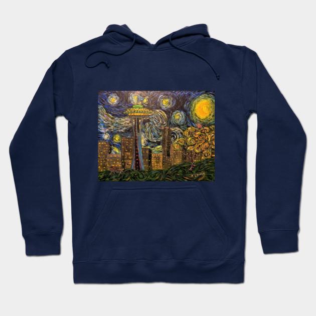 ff01867ba5 Dedication to Van Gogh (Seattle Starry Night) - Starry Night ...