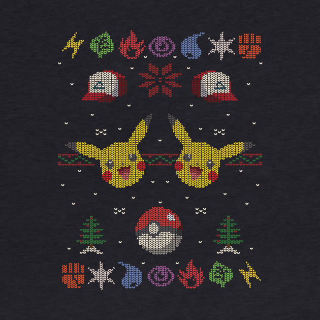 Ugly Pokemon Christmas Sweater