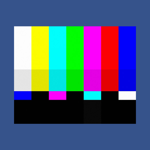 TV color test bars