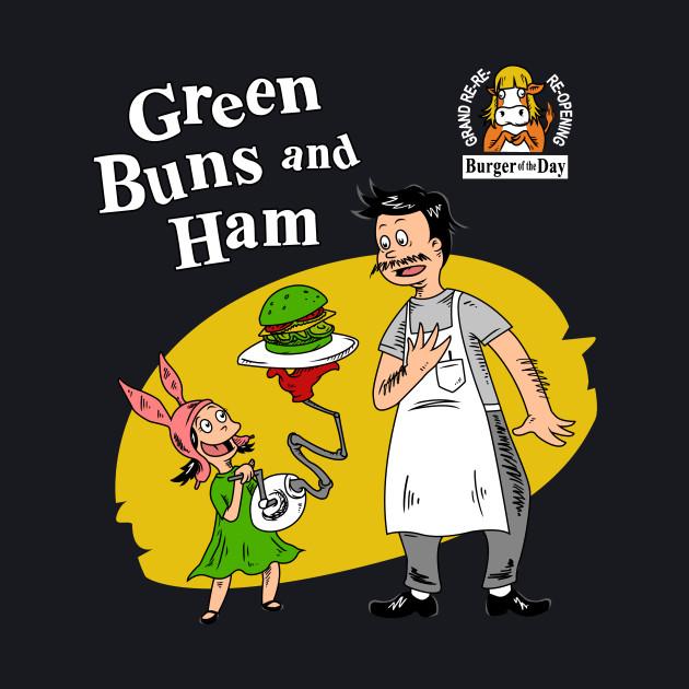 Green Buns and Ham