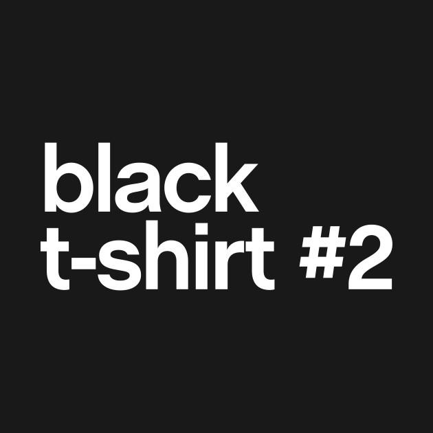 Black T-Shirt #2