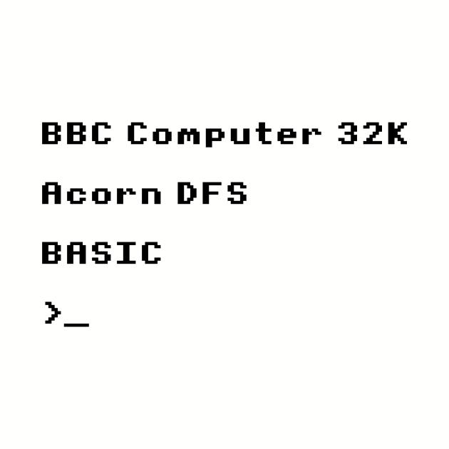 BBC Micro Splash Screen