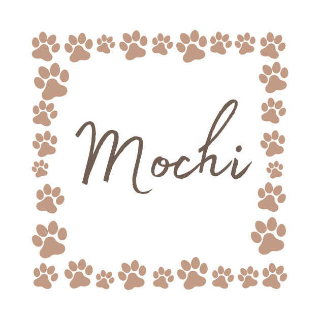 Pet name tag - Mochi