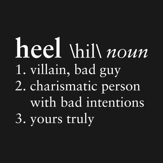 Heel Dictionary