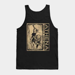Athena Tank Tops | TeePublic