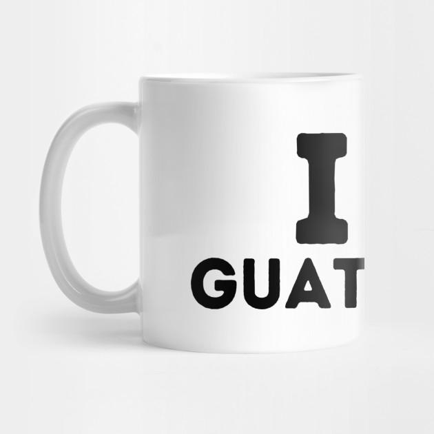 I Love Heart Guatemala City Mug