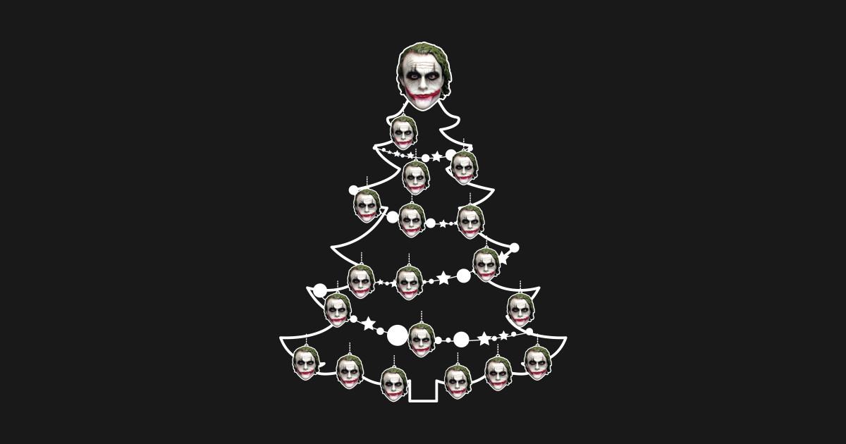 Joker Christmas Ornament.Batman Dark Knight Joker Christmas Tree Baubles By Rebus28