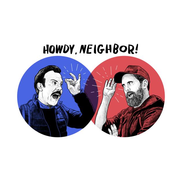 Howdy, Neighbor! | Ted Lasso & Coach Beard