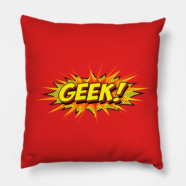 Geek Boom Geeks Pillow Teepublic - 10-geek-furniture-designs