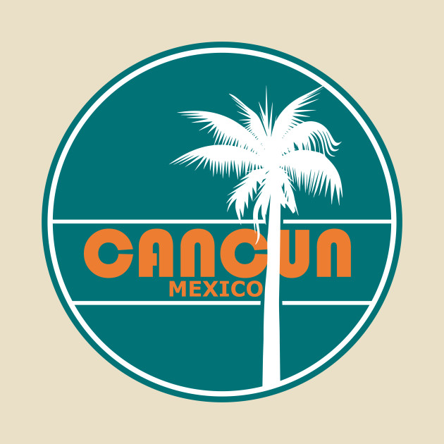 506c8eef456082 Retro Cancun Mexico Vacation Gift - Vintage Travel Cancun Gift - T ...