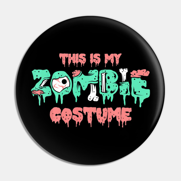 Christmas Zombie Costume.This Is My Zombie Costume Halloween Scary Monster Tshirt
