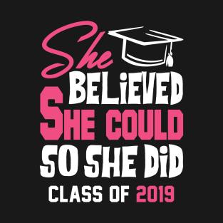 2019 graduation t shirts teepublic