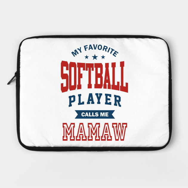 Softball player mamaw